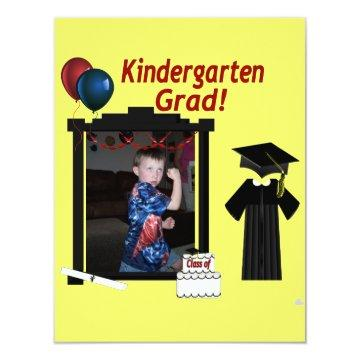 Kindergarten Graduate  add Photo text