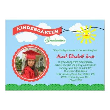 Kindergarten Graduation Invitations Graduation Invitations