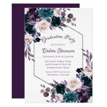 Love Bloom | Eggplant Moody Purple Graduation