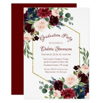 Love Bloom | Elegant Burgundy Marsala Floral