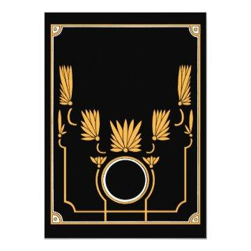Make Your Own  - Art Deco Black & Gold
