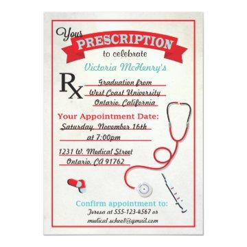 Medical Graduation Prescription Pad