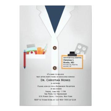 Medical Staff Retirement Invitation
