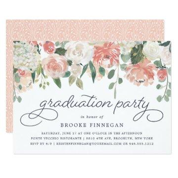 Midsummer Floral Graduation Party
