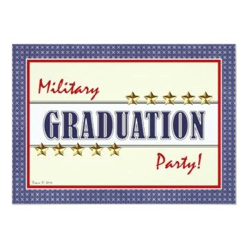 Military Training Graduation Party