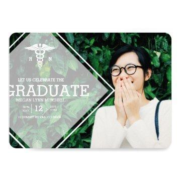 Modern Overlay | RN Graduation Party Photo