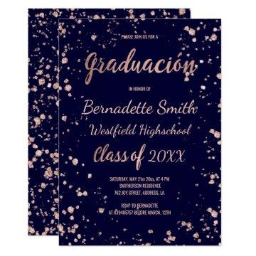 Spanish Graduation Invitations Graduation Invitations