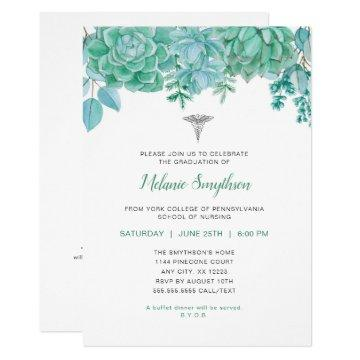 Nurse graduation or RN pinning ceremony Card
