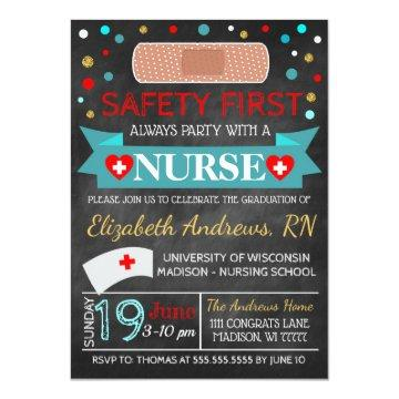 Nurse Medical Graduation / Retirement Invitation