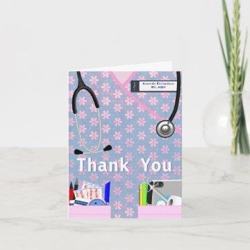 Nurse Pockets Thank You - Pinks