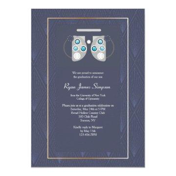 Ophthalmology Graduation Invitation