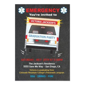 Paramedic or EMT Graduation Party
