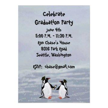 Penguins Graduation Party