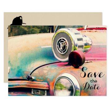 "Personal Firefighters ""Save the Date"""