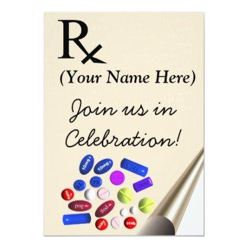 Pharmacist Graduation  Prescription