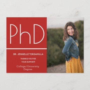 PhD degree Photo Announcement
