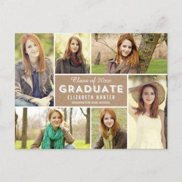 Photo Showcase Graduation Announcement Craft