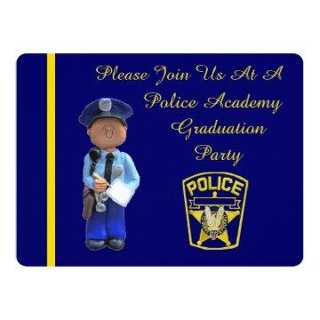 Police Academy Graduation Party