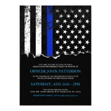 Police Style American Flag Party|Event