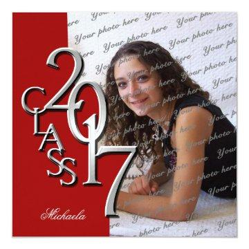 Elegant Graduation Party Invitations with awesome invitation template
