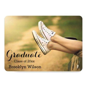 Round Personalized Graduation Party