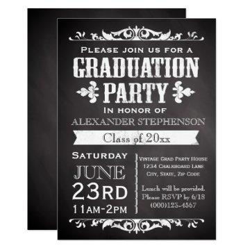 Rustic Slate Graduation Party