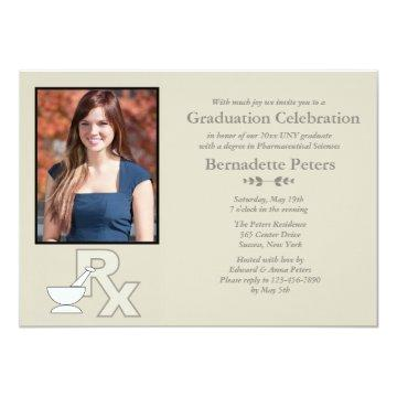 Rx Pharmacy School Photo Graduation