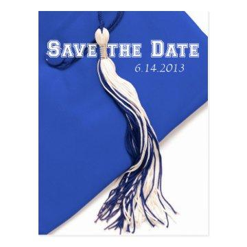 Save the Date Graduation Postcard