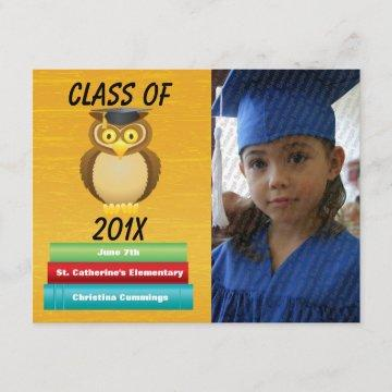 See Whooo Graduated Graduation Announcement