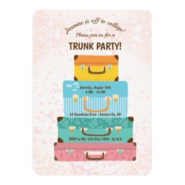 Trunk Party (Female) Invitation