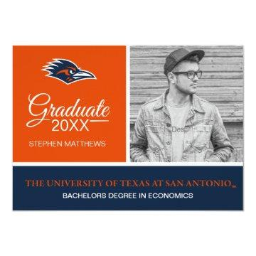 University of Texas at San Antonio | Graduation Invitation