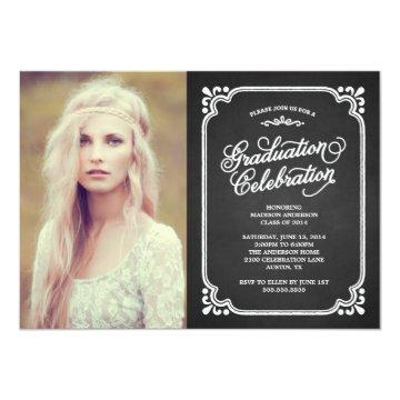 Vintage Country | Graduation Party Invitation